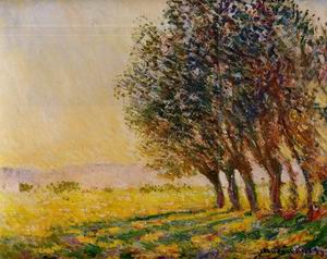 Willows at Sunset 1889