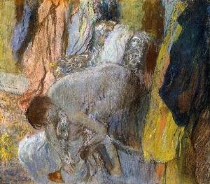 Woman Washing Her Feet 1893