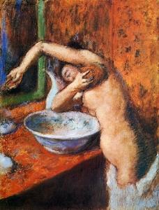 Woman Washing Herself 1892