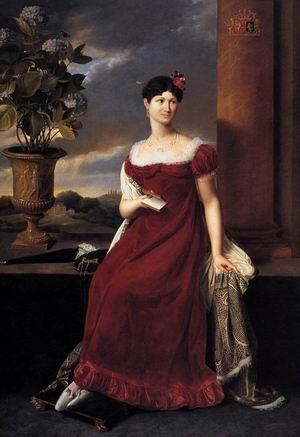 Mary Lodge, Bride of Baron Charles-Louis de Keverberg de Kessel 1818