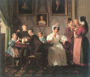 The Waagpetersen Family 1836