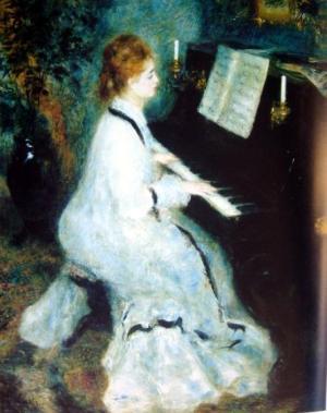 At the Piano, 1875