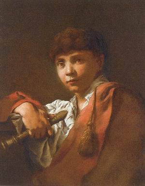 Boy with Flute 1740-50