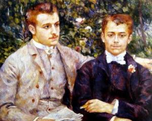 Charles and Georges Durand-Ruel,1882