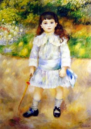 Child with a Whip,1885