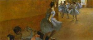 Dancers Climbing a Stair c. 1886-1890