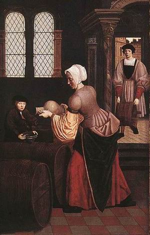 Elijah and the Widow of Zarapeth(left) 1500-20