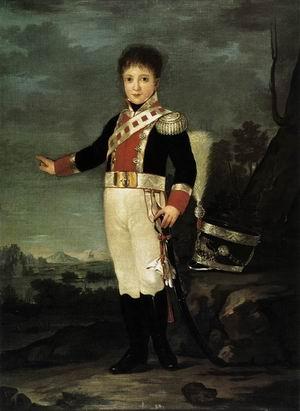 Infante Don Sebastion Gabriel de Borbon y Braganza 1822