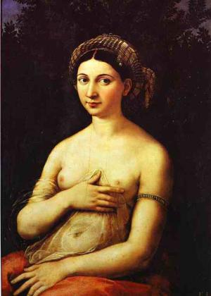 La Fornarina. c.1518-1519