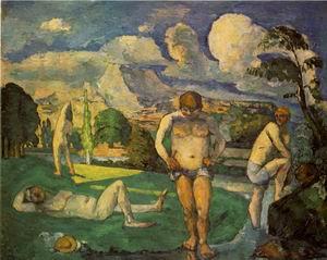 Les baigneurs au repos 1875-76