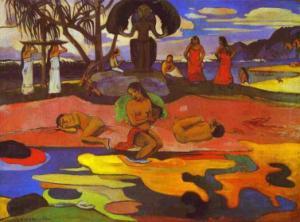 Mahana no atua (Day of God), 1894