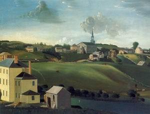 Meetinghouse Hill, Roxbury, Massachusetts 1799