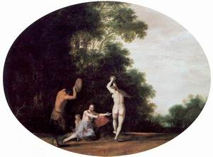 Nymphs and Satyr 1630