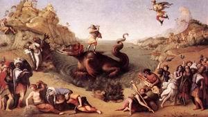 Perseus Frees Andromeda c. 1515