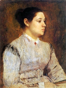 Portrait of a Young Woman 1864-65