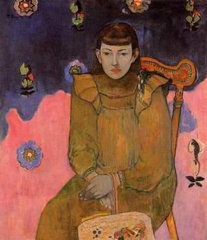 Portrait Of A Young Woman Vaite (Jeanne) Goupil