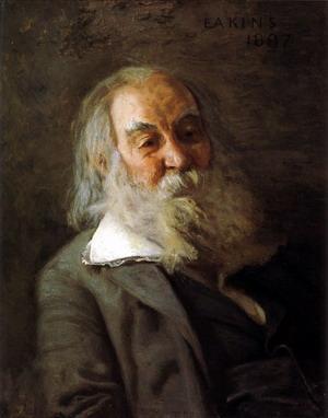 Portrait of Walt Whitman 1887-88