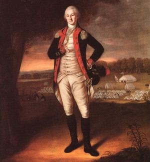 Portrait of Walter Stewart 1781
