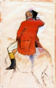 Rider in a Red Coat 1873