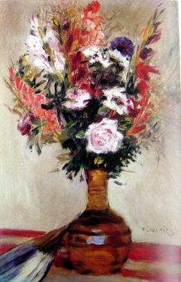 Rose in a Vase,1872