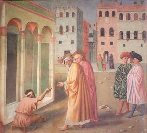 Saint Peter Heals a Cripple 1424-25