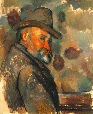 Self-Portrait with Soft Hat c.1894