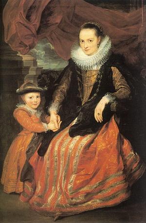 Susanna Fourment and her Daughter 1620-21