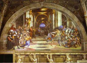 The Expulsion of Heliodorus. c.1512