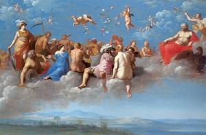 The Feast of the Gods 1623