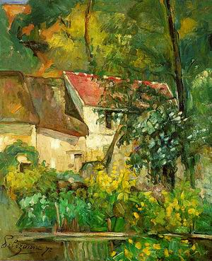 The House of Pere Lacroix in Auvers, 1873