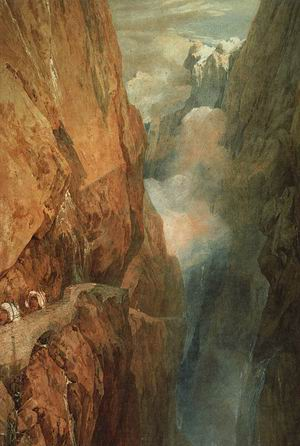 The Passage of the St. Gothard, 1804