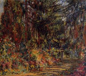 The Path at Giverny 1902-1903