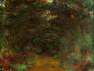 The Path under the Rose Trellises Giverny2 1920-1922