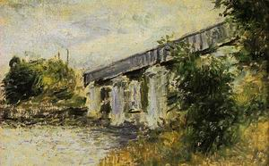 The Railway Bridge at Argenteuil3 1874