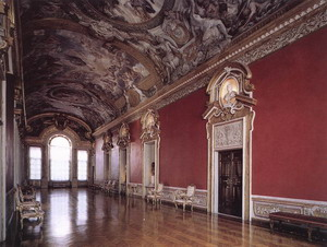 View of the Galleria Pamphili 1651-54