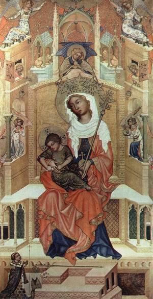 Virgin Enthroned c. 1350