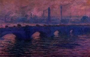 Waterloo Bridge Overcast Weather1 1899-1901