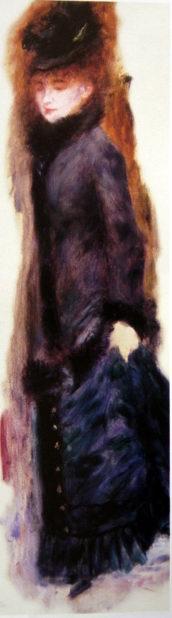 Woman Lifting her Skirt,1877
