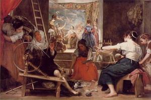 Las Hilanderas (The Spinners) c. 1657