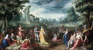 The Continence of Scipio 1600