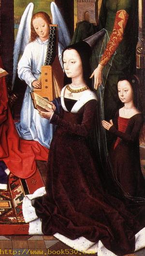 The Donne Triptych (detail) c. 1475