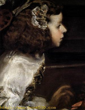 Las Meninas (detail) 1656-57