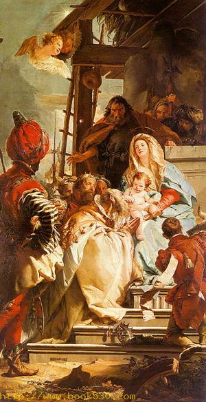 The Adoration of the Magi, 1753