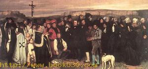 A Burial at Ornans 1849-50