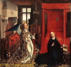 Annunciation Triptych (central panel) c. 1440
