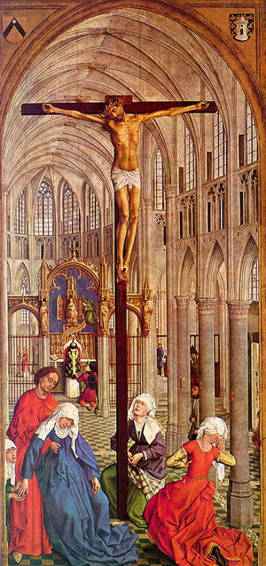 Crucifixion in a Church, 1445