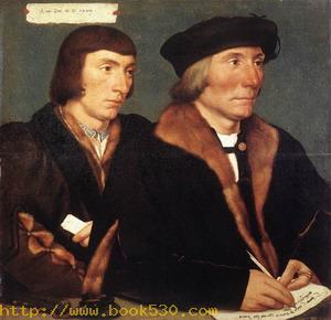 Double Portrait of Sir Thomas Godsalve and His Son John 1528