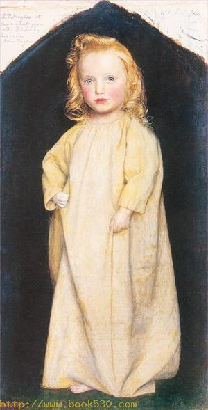 Edward Robert Hughes as a Child 1854-55