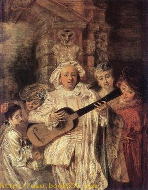 Gilles and his Family c. 1716