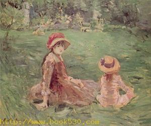In the Garden at Maurecourt 1884